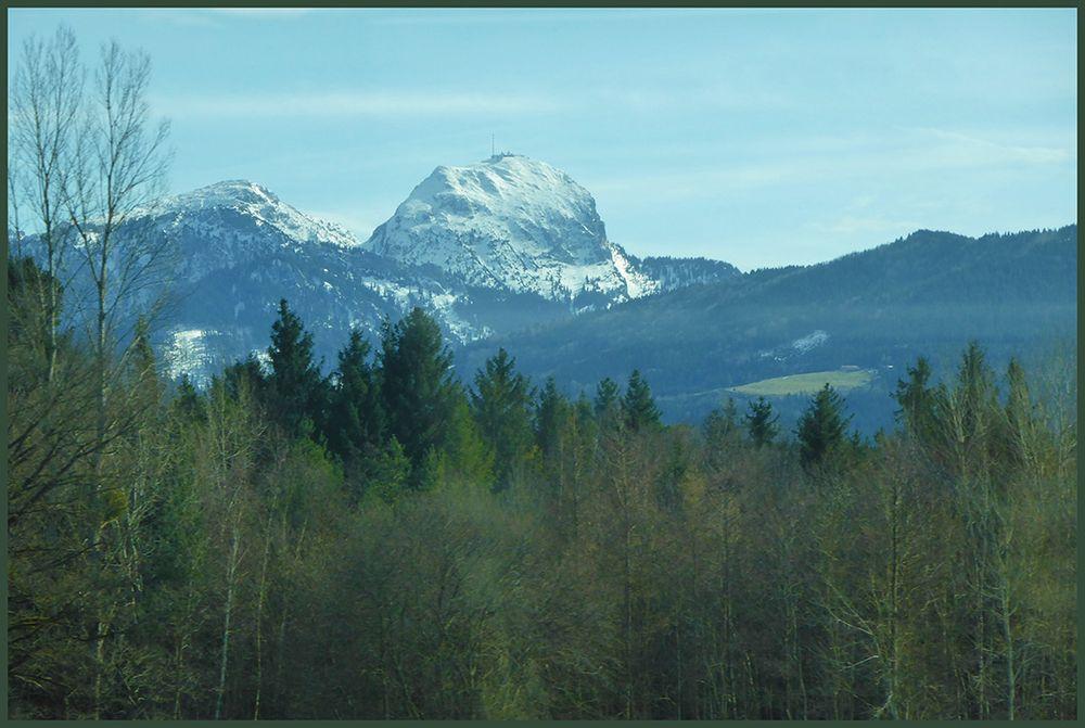 Landschaft bei Rosenheim