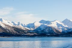 Landschaft bei Tromsö