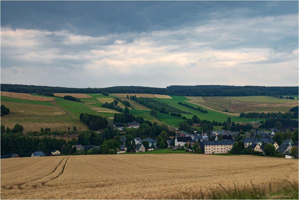 Landschaft, Erzgebirge