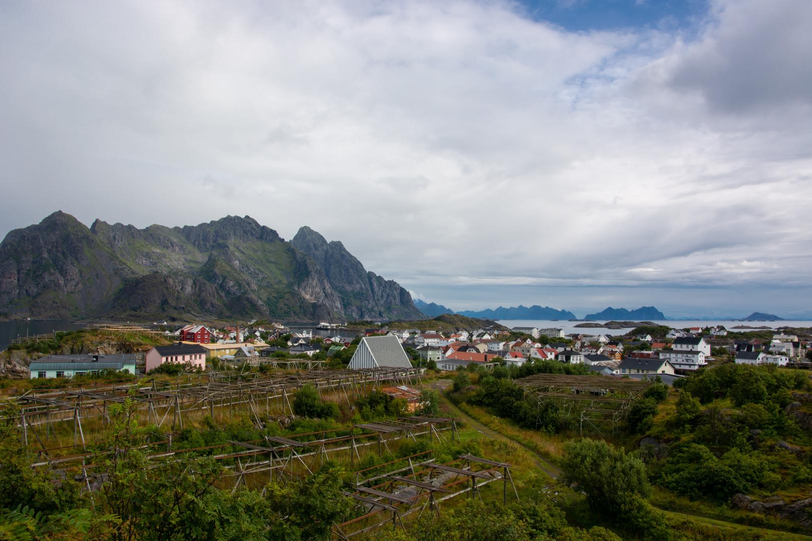 Landschaft Henningsvær