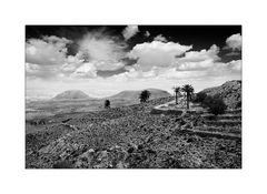 Landschaft im Dahargebirge