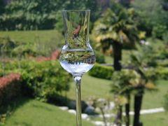 Landschaft im Glas