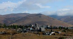 Landschaft im Nordwesten von Armenien