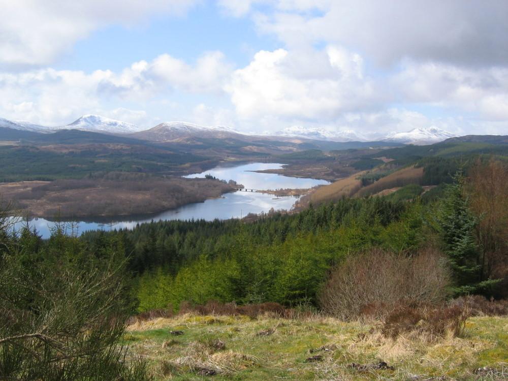 Landschaft in den Highlands