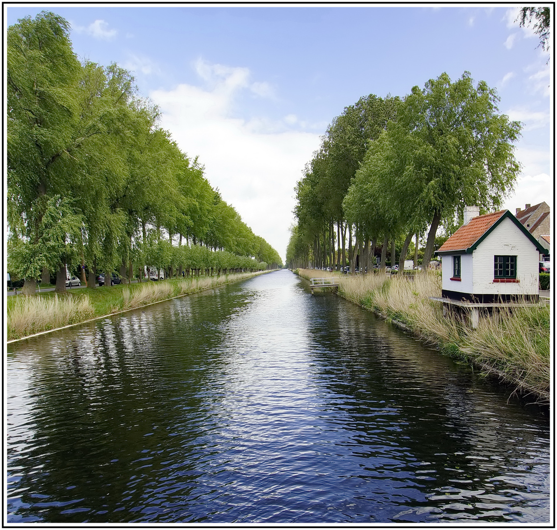 Landschaft in Flandern