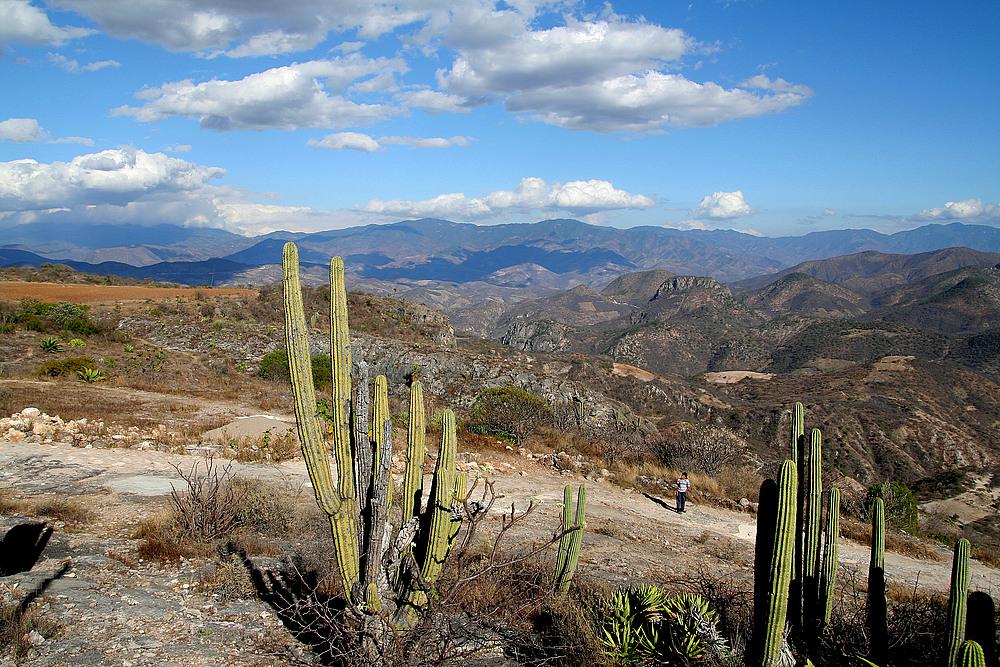Landschaft in Mexiko
