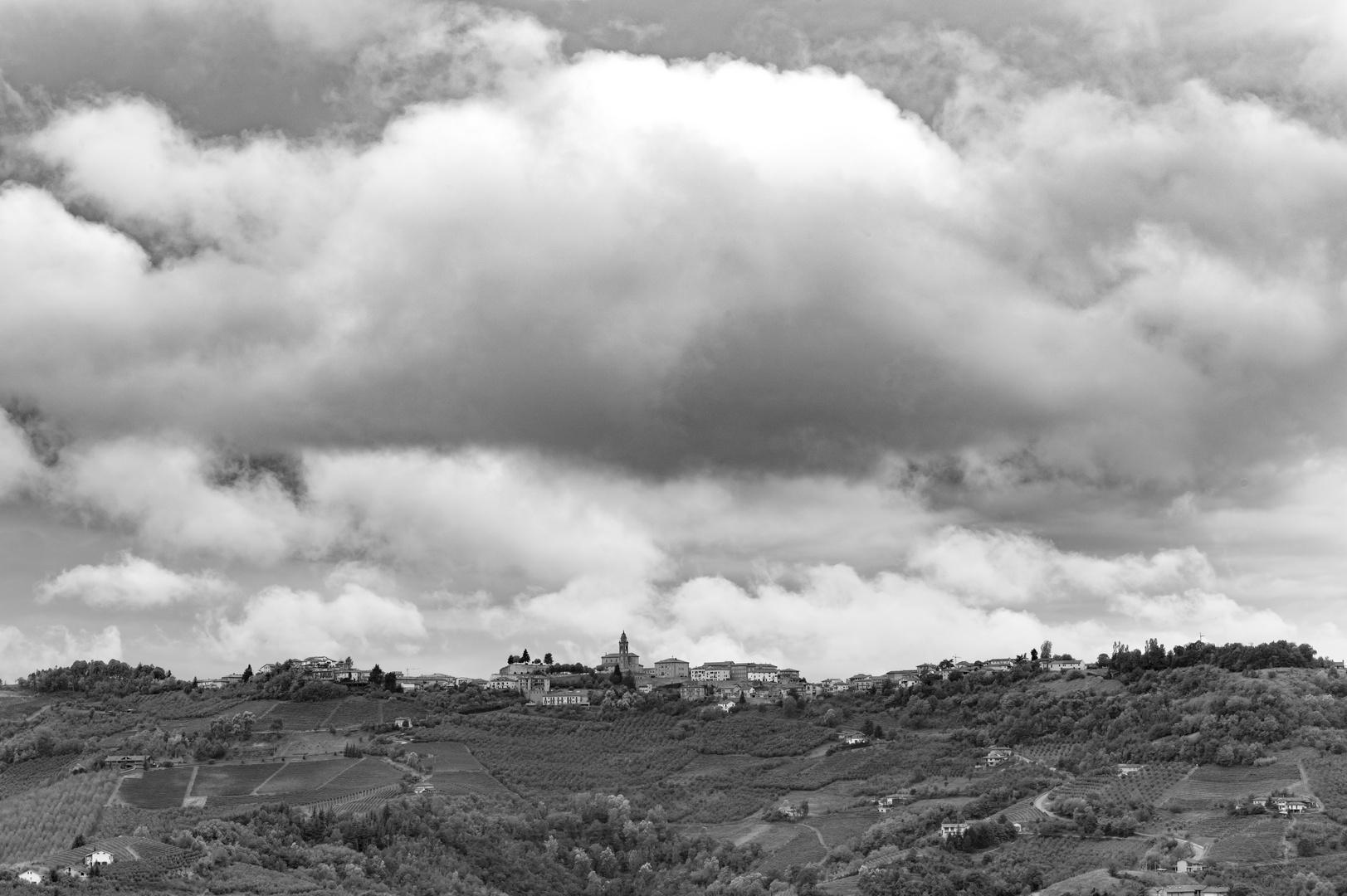 Landschaft in Piemont