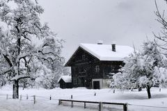 ...Landschaft in weiß...