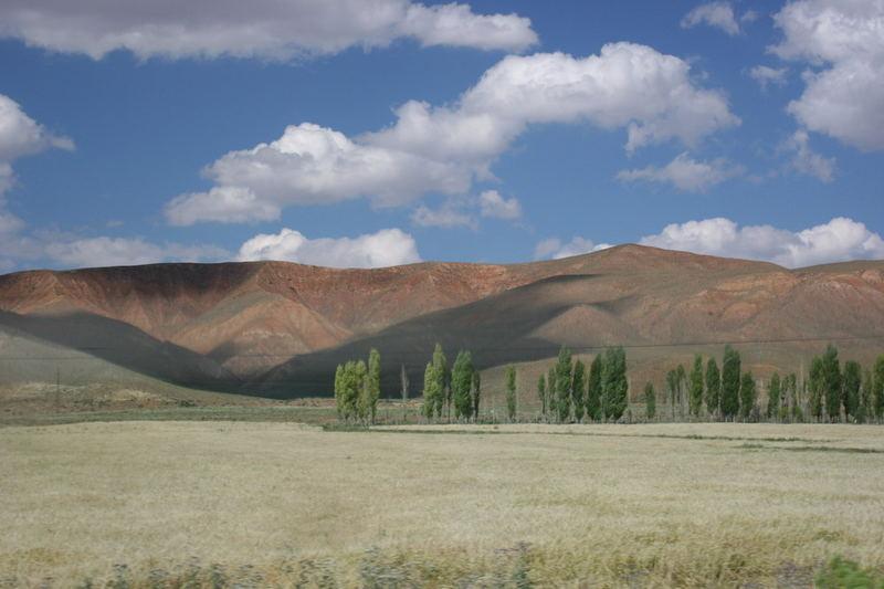 Landschaft in Zentral-Anatolien
