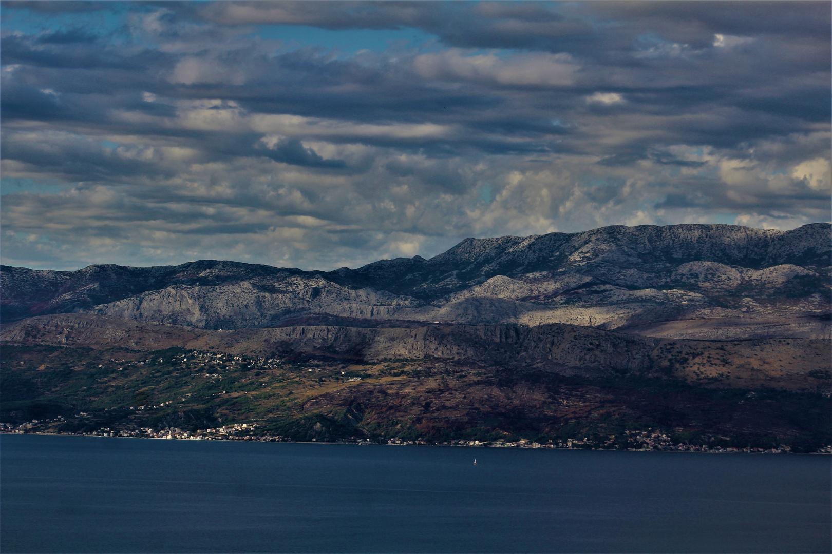 Landschaften in Dalmatien
