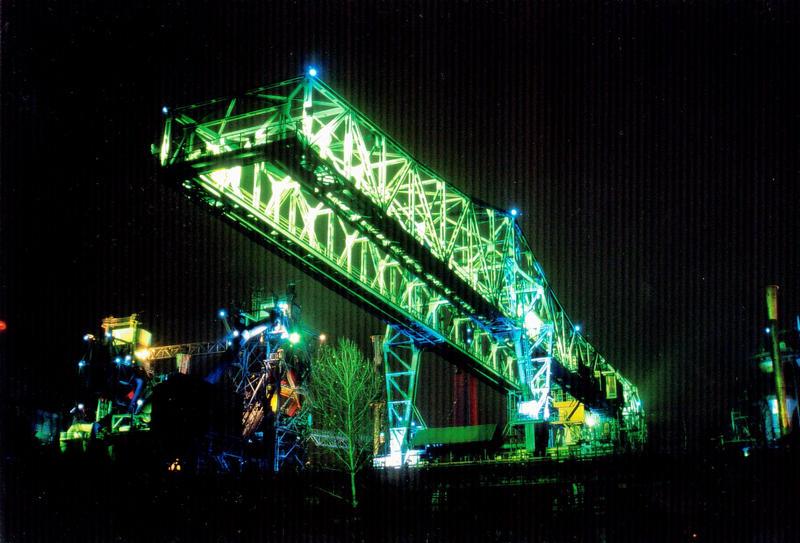 Landschaftspark Duisburg: Ladebrücke