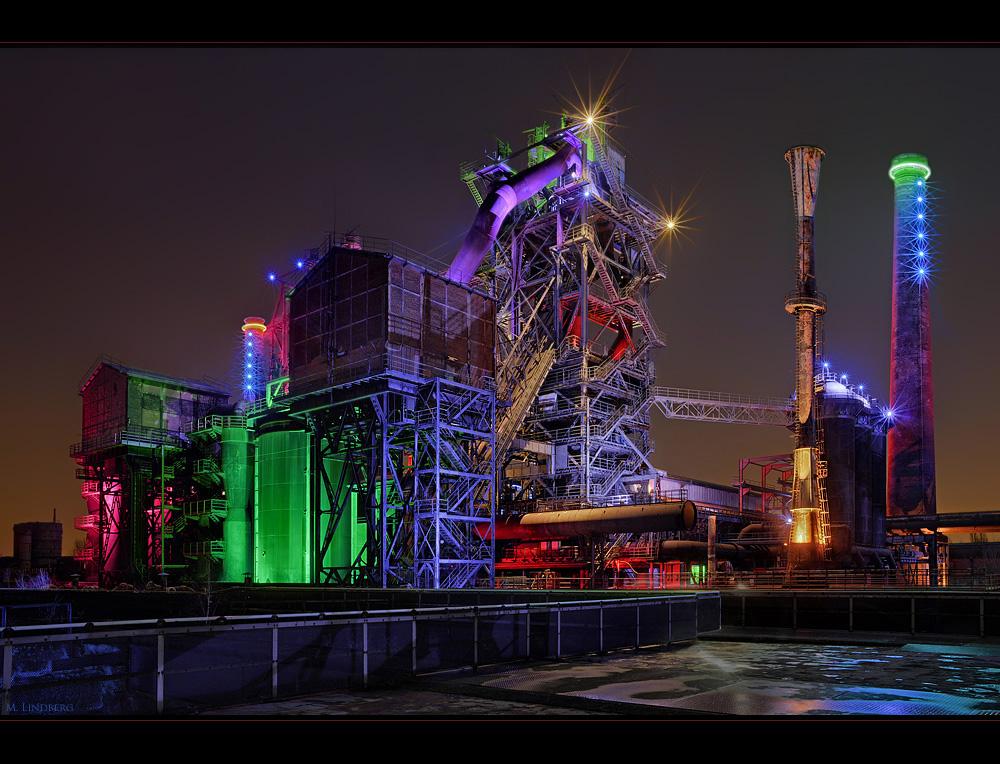 Landschaftspark Duisburg Nord Foto & Bild | industrie und technik ...