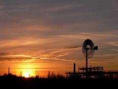 Landschaftspark Duisburg - Sonnenuntergang