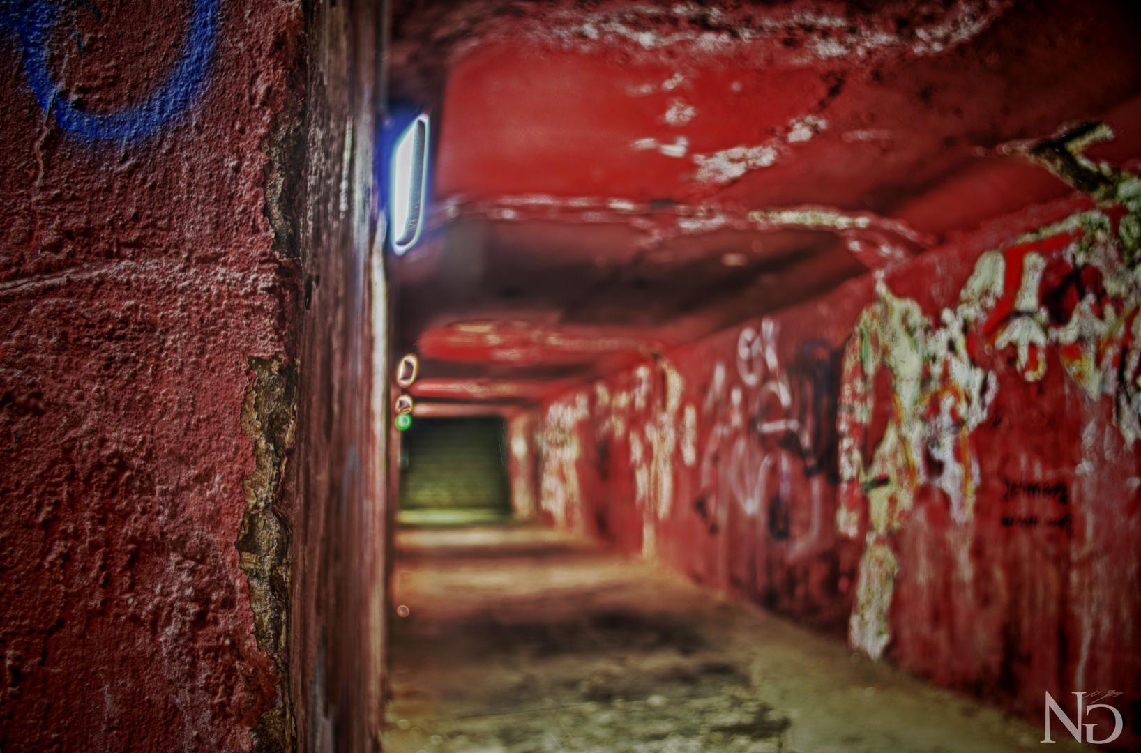 Landschaftspark Nord Tunnel