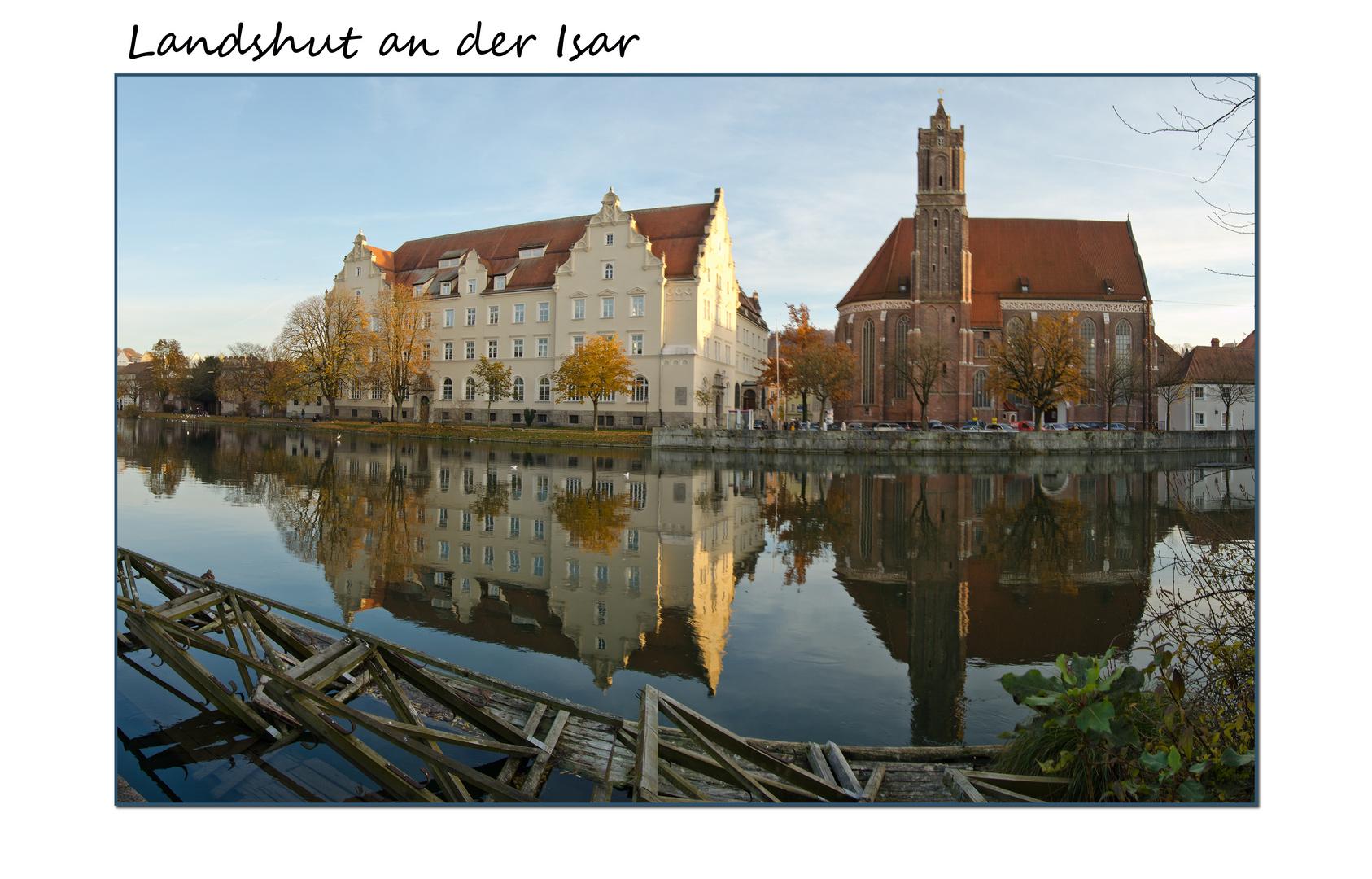 Landshut Herbst Panorama
