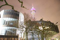 Landtag mit Rheinturm