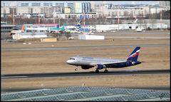 Landung Aeroflot 1 SXF