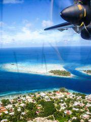 Landung auf Rangiroa