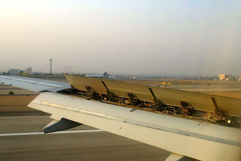 Landung in Kairo