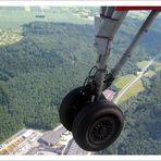 Landung Stuttgart Flughafen