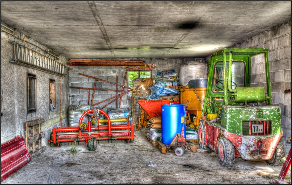 Landwirt-Garage