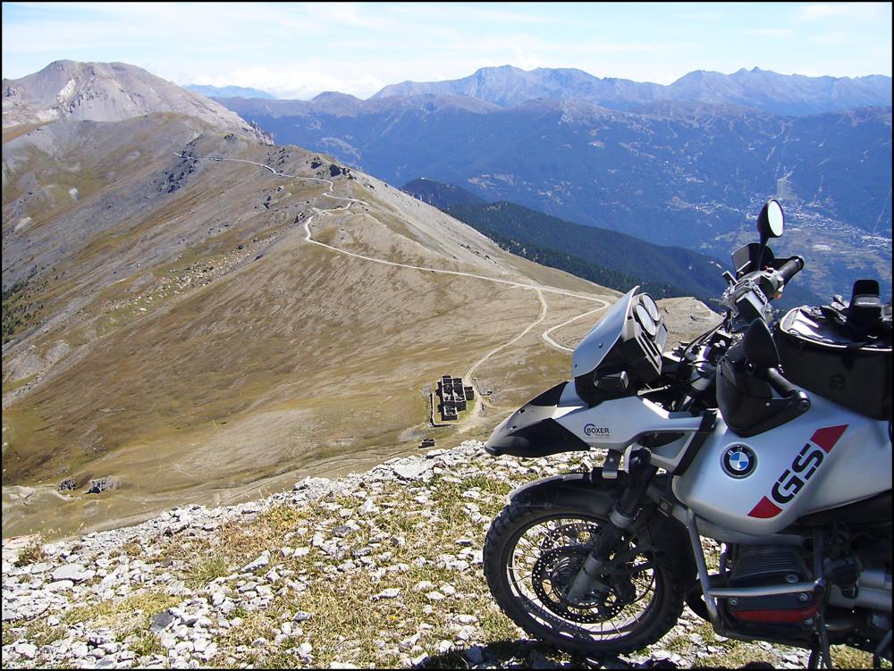 Lange Anfahrt zum Monte Jafferau