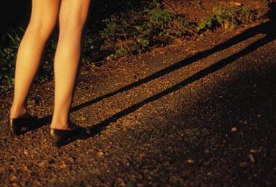 Lange Beine - Längere Schatten