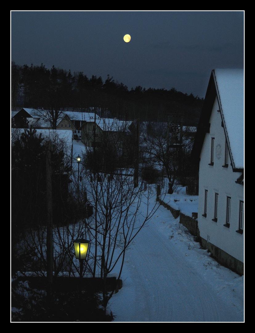 Lange, kalte Winternächte ...