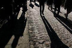 Lange Schatten in Tallinn