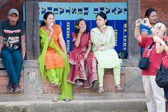 Langeweile in Bhaktapur