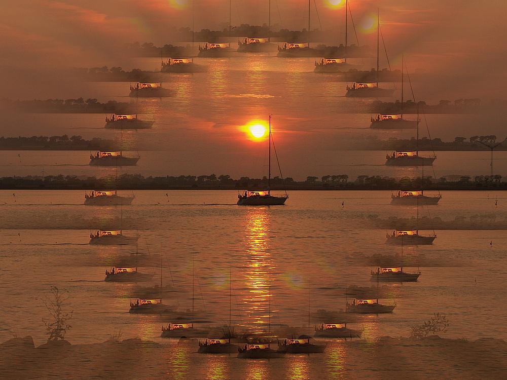 """Langeweile oder """" Ein """" Schiff wird kommen"""