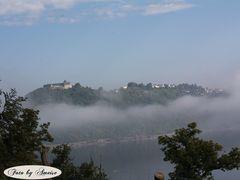 Langsam entweicht der Nebel
