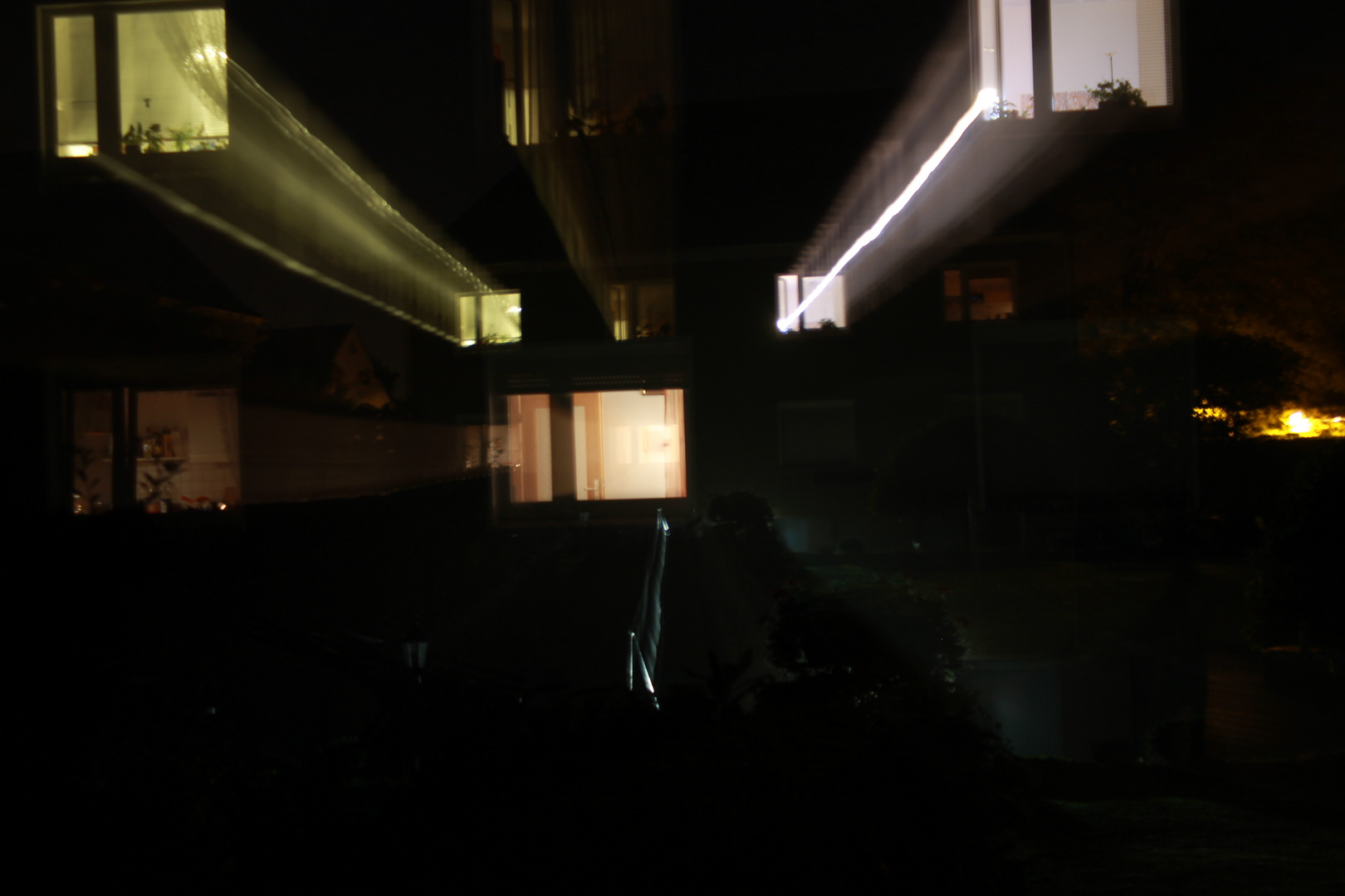 Langzeitaufnahme in der Nacht