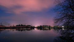 Langzeitbelichtung Ortwanger See