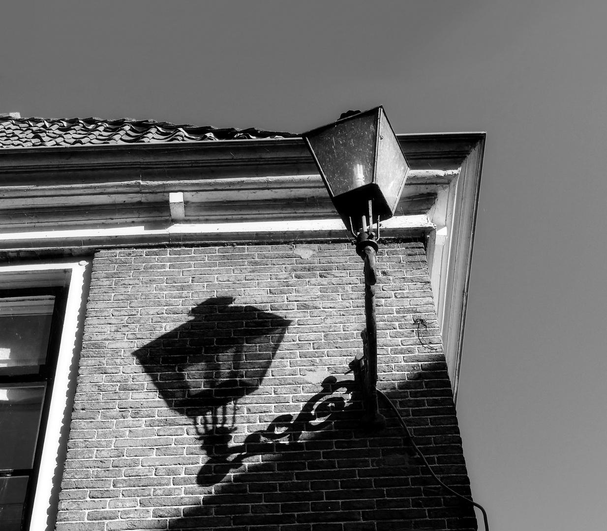 ... lantern at the corner house