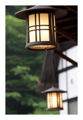 Lantern at under eaves