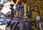 Lanz Feldarbeitsgerät mit Fliehkraftregler (Dampfmaschine)