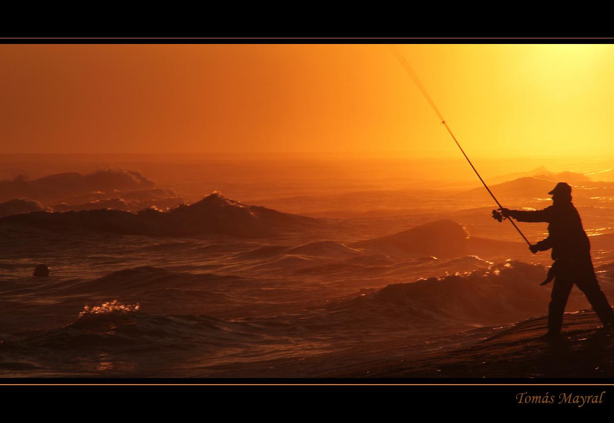 Lanzamiento al Mar Bravío