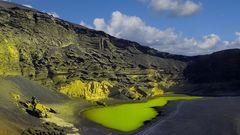 Lanzarote 2019 (23) - Versunkener Krater des Vulkans Montaña de Golfo