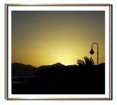 Lanzarote am Abend