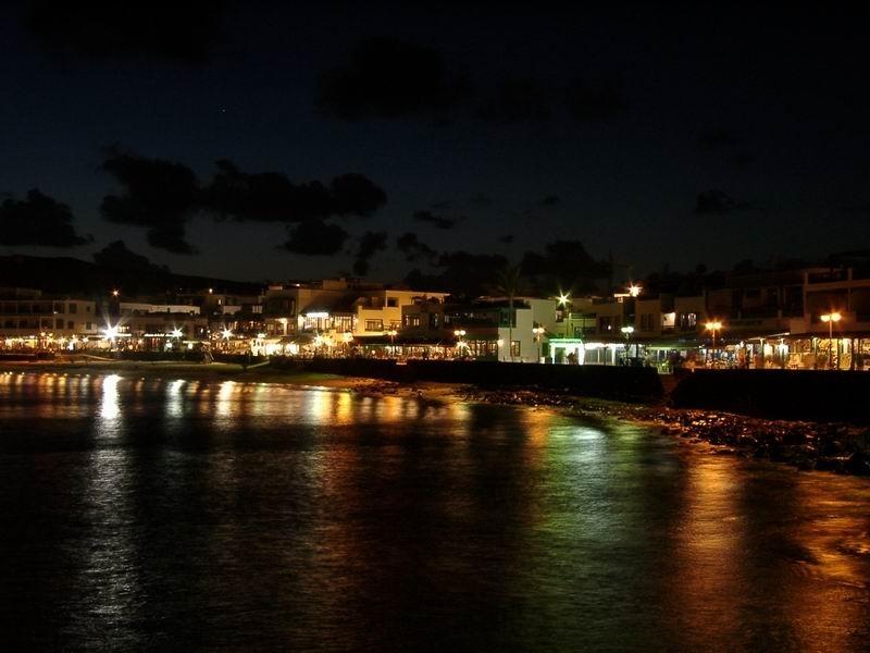 Lanzarote bei Nacht