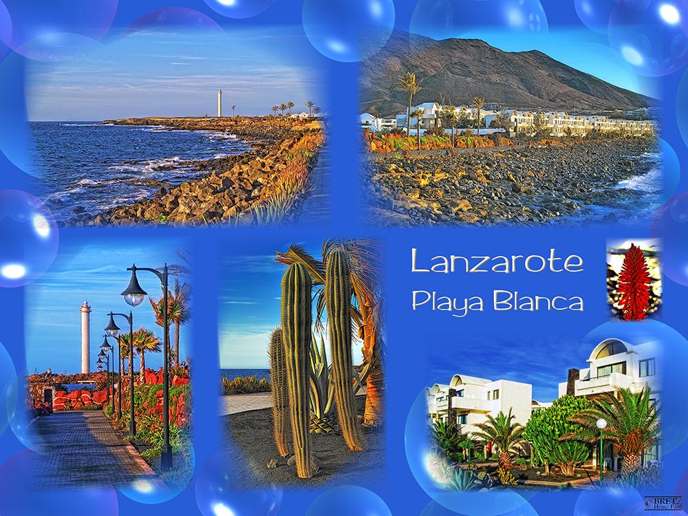 Lanzarote Postal No. 1