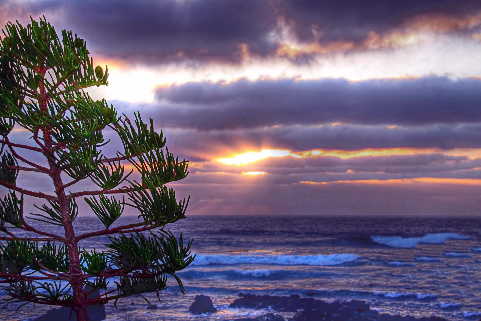 Lanzarote Sonnenuntergang El Golfo 1
