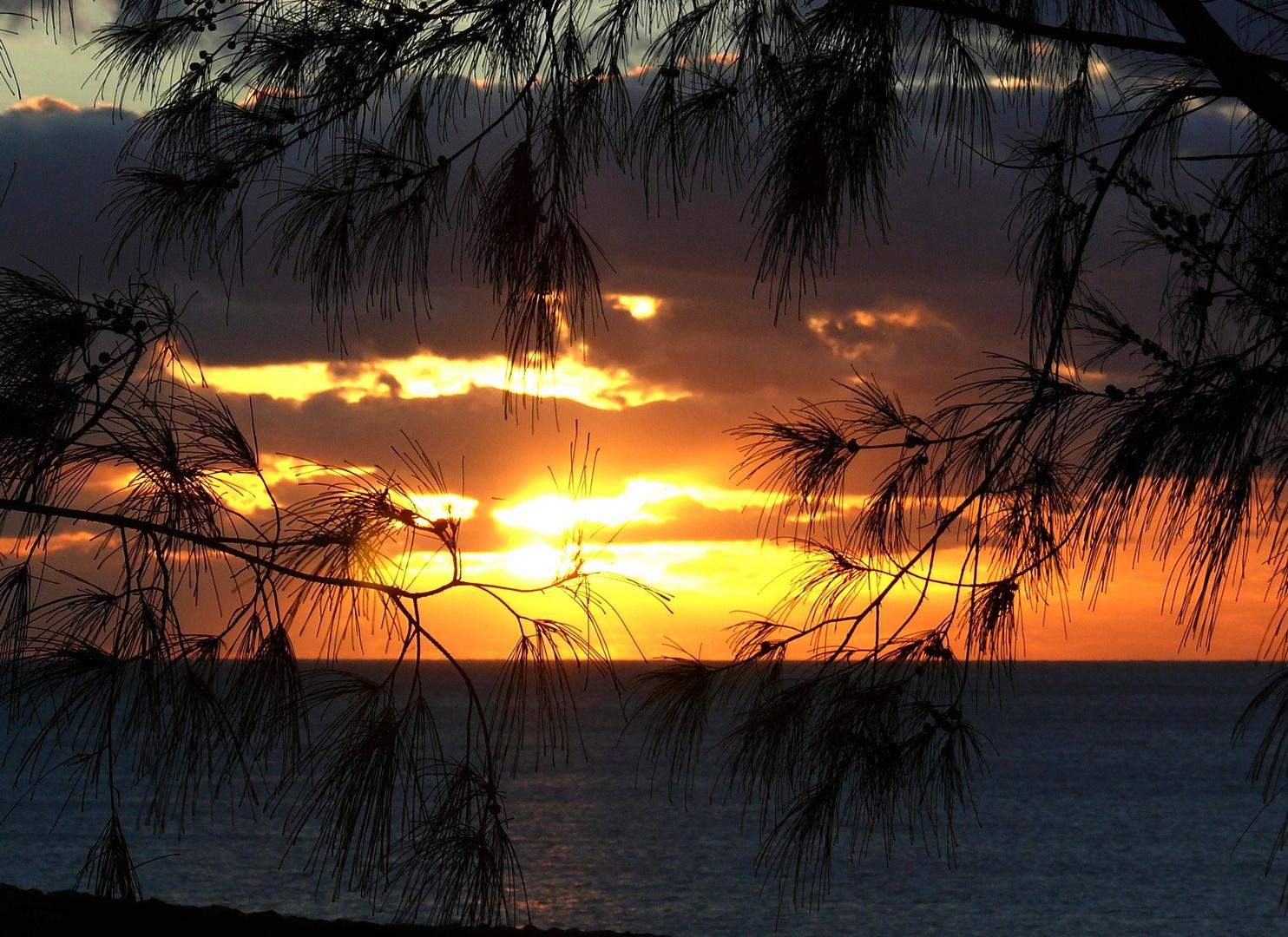Lanzarote - Sonnenuntergang (Januar 2009)