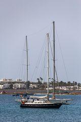 Lanzarote vor der Seuche ... Masten und Segel (2)