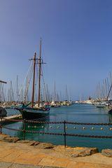 Lanzarote vor der Seuche ... Masten und Segel (4)