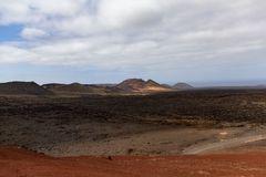 Lanzarote vor der Seuche ... Timanfaya (6) - auch bei 'schlechtem' Wetter eine tolle Aussicht