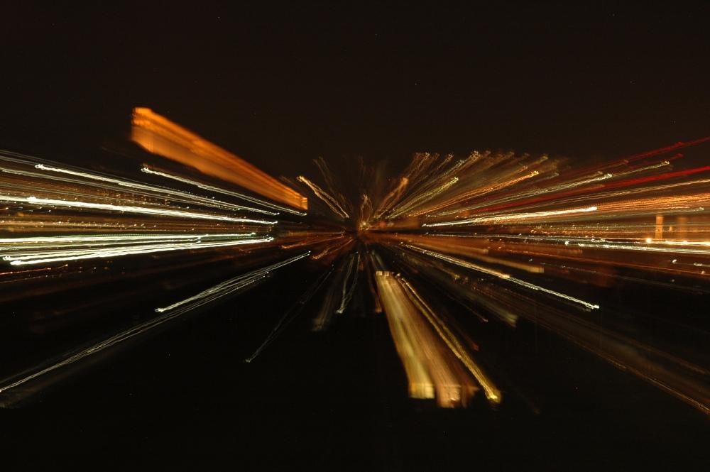Lanzeitbelichtung Zoomen