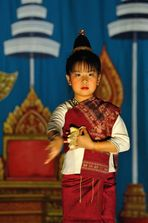 Lao dance girl 1