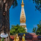 Laotian style chedi in Thailand